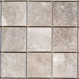 Мармурова мозаїка Silver Fantasy полірований 30,5x30,5x1,5 см