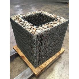 Габион-контейнер КУБ для растений 50х50см