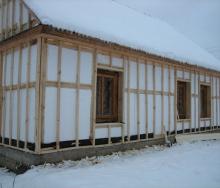 Утеплення фасадів будівель - зима не перешкода