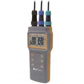 Анализатор 4в1 AZ-86031 оксиметр/рН-метр/кондуктометр/солемер