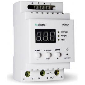Таймер циклический hs-electro Т16ц2 (питание 220В/12В) 3000Вт