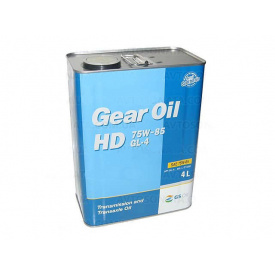 Масло редукторное KIXX Gear Oil HD 75W85 4 л