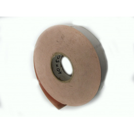 Скотч двухсторонний ROLMONT 40 мм 35 м розовый бухта