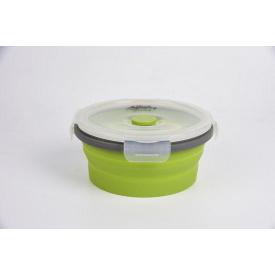 Контейнер складаний з кришкою-засувкою Tramp 800 ml olive