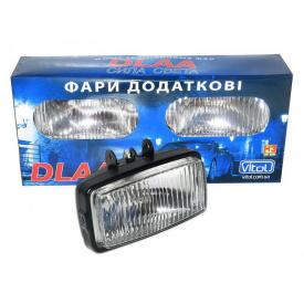 Фари DLAA 1030 BW/H3-12V-55W/163х88 мм