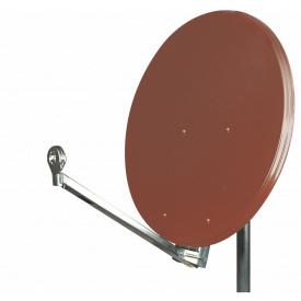 Супутникова антена CA-900 Червона 0,85 м
