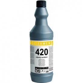 Моющее средство для прочистки санитарных стоков CLEAMEN 420 - 1л