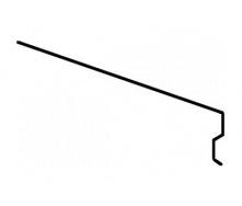 Планка Aquaizol КП-2 карнизна 0,5 мм 2 м червоний