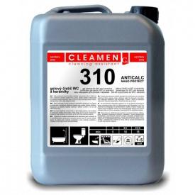 Чистящий гель для туалетов и керамики CLEAMEN 310 -5 л