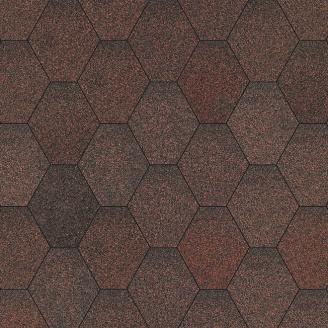Бітумна черепиця Aquaizol Мозаїка 320х1000 мм секвойя