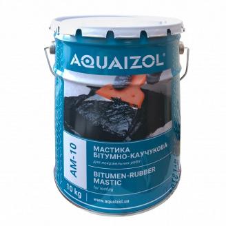 Мастика Aquaizol АМ-10 бітумно-каучукова 10 кг