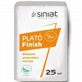 Финишная шпаклевка Plato Finish 25 кг Siniat