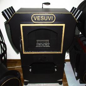 Камин булерьян Vesuvi 00 117,0 черный