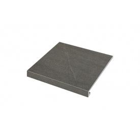 Ступенька угловая левая Zeus Ceramica Calcare black 34,5x30x3,5x0,92 см (SZRXCL9ВRC1)