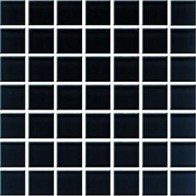 Плитка Ceramika Konskie Domenico Black Glass Mosaic мозаика 20х20 см (ICT0549007G1)