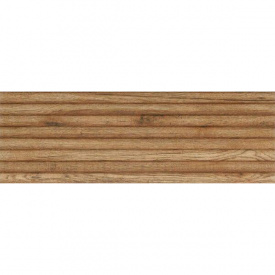 Плитка Ceramika Konskie Parma Wood Relief глянцевая стеновая 25х75 см (PCT1179172G1)