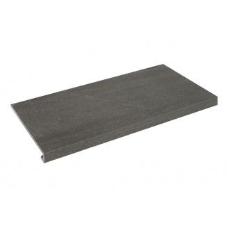 Ступенька угловая правая Zeus Ceramica Calcare Black 34,5х60х0,92 см (SZRXCL9BRR2)