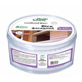 Олія-віск для деревини зовнішньої. ConWood Wax+, 0.45 кг