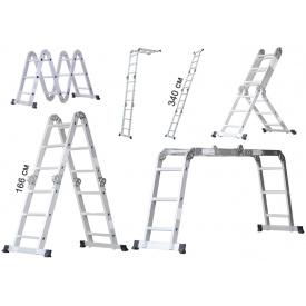 Универсальная лестница стремянка Masko 4х3, 340 см (Masko4х3)