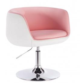 Кресло парикмахерское Woltu BH42 Розовый