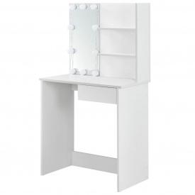 """Туалетный гримерный столик с зеркалом и светодиодной подсветкой """"Jenna"""""""