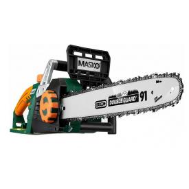 Электрическая цепная пила электропила MASKO Oregon Sword Зеленый