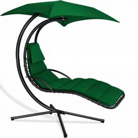 Шезлонг качеля подвесной KESSER (KE15228) Зеленый