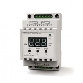 Таймер циклический цифровой на DIN-рейку DEUS Electro ТЦ-10 Д 10 А 220 В