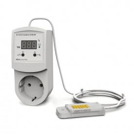 Регулятор-измеритель влажности цифровой в розетку DEUS Electro РВ-16 Р-AM 2302 220 В 16 А