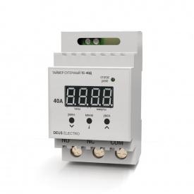 Таймер суточный цифровой на DIN-рейку DEUS Electro ТС-40 Д 40 А 220 В
