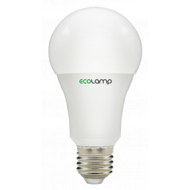 Cветодиодная лампочка LED ECOLAMP A60-10W-E27-1000lm-4104