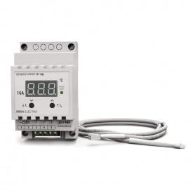 Терморегулятор регулятор температуры цифровой на DIN-рейку DEUS Electro ТР-16 Д 16 А 220 В