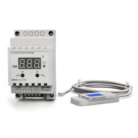 Регулятор-измеритель влажности цифровой на DIN-рейку DEUS Electro РВ-16 Д-DHT 11 220 В 16 А
