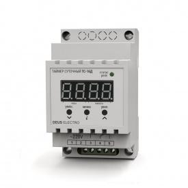 Таймер суточный цифровой на DIN-рейку DEUS Electro ТС-16 Д 16 А 220 В