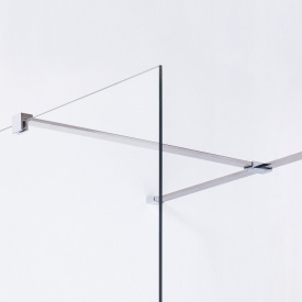Держатель стекла F с креплениями длиной 1000мм VOLLE 18-05F-100