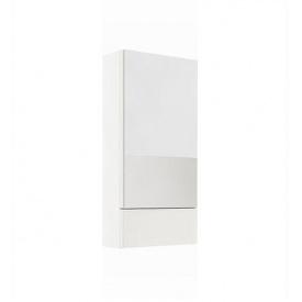 Шкафчик NOVA PRO с зеркалом белый глянец пол KOLO Польша 88431000