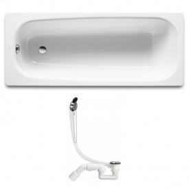 CONTINENTAL ванна 160x70см сифон Simplex для ванны 311537 Roca A21291200R+311537