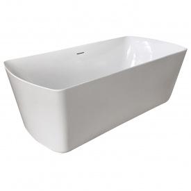 Ванна 1800x850x610мм отдельно стоящая акриловая с сифоном VOLLE 12-22-804