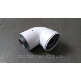 Колено 90 градусов, 60/100 mm CE.00.34 H