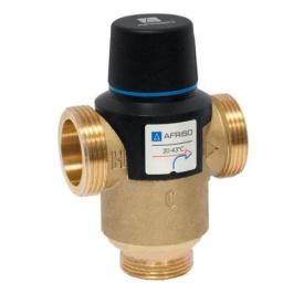 """Afriso ATM763 G 1"""" DN 20 35-60С kvs3,2 термостатический смесительный клапан 1276310"""