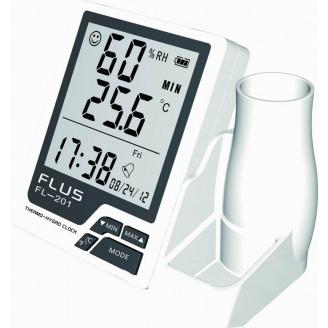 Термогігрометр Flus FL-201