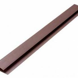 Профиль ПВХ стартовый коричневый Riko PL 06