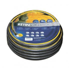 Шланг садовий Tecnotubi Retin Professional для поливу діаметр 3/4 дюйма, довжина 50 м (RT 3/4 50)