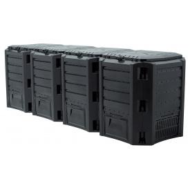 Компостер Prosperplast MODULE COMPOGREEN 1600 л, черный (5905197595443)