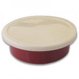 Набор круглых керамических форм с пластик. крышками, 16 предметов 1695099