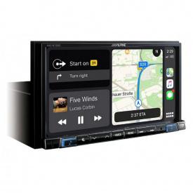 """Мультимедиа 1-DIN с 7"""" монитором Alpine INE-W720D"""