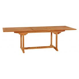 Тиковый стол раскладной прямоугольный Time Eco TE-180T (4000810134267)