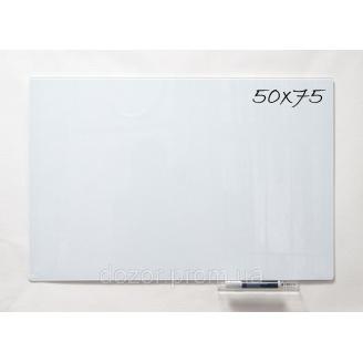 Доска стеклянная магнитная маркерная Tetris SMM50×75