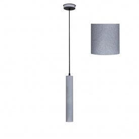 Світильник підвісний Трубка MSK Electric Е27 метал (NL 3522 GR)