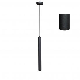 Светильник подвесной Трубка MSK Electric Е14 металл (NL 4045 BK)